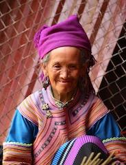 Femme sur le marché de CanCao