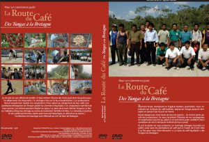 Jaquette DVD La route du café des Yungas à la Bretagne