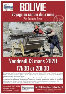 Affiche Mina Fabulosa invitation Asso Internotes Lyon 2020-03-13